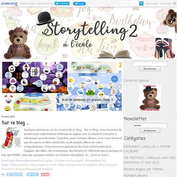 Brown Bear & Co, L'anglais avec le Storytelling