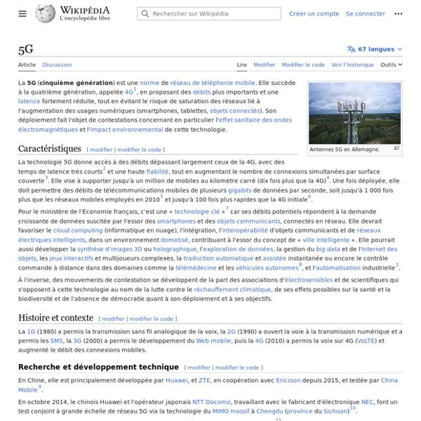 5G - Wikipédia