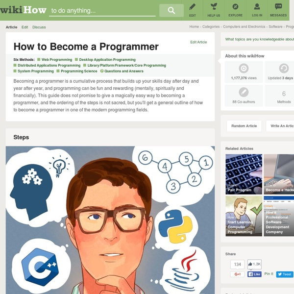 6 Ways to Become a Programmer