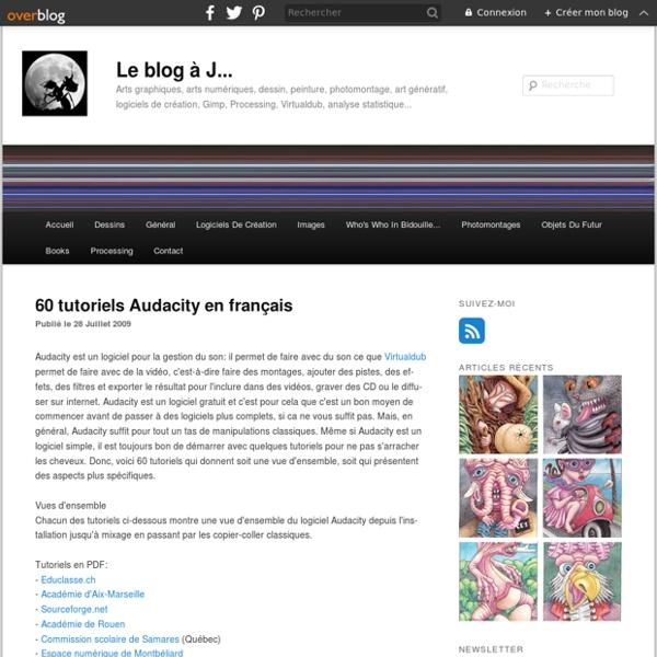 60 tutoriels Audacity en français
