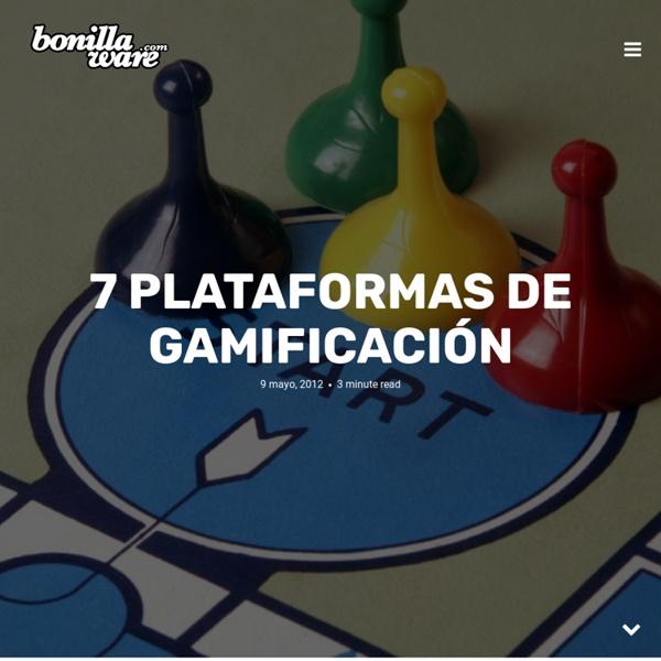 7 plataformas de gamificación