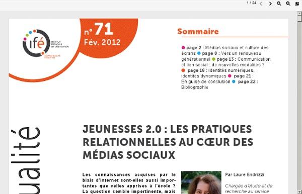Ife.ens-lyon.fr/vst/DA-Veille/71-fevrier-2012.pdf