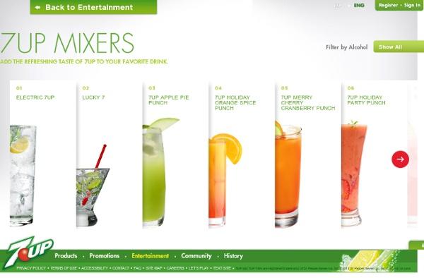 7UP Mixers
