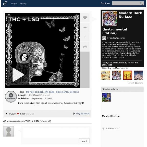 Free trip hop and acid jazz music playlist