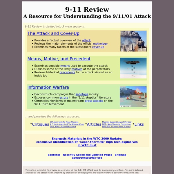 9-11 Review
