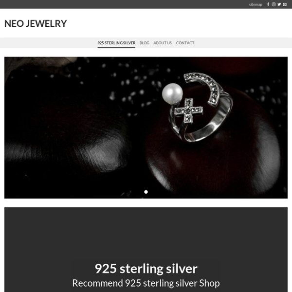 925 Sterling Silver - Neo Jewelry