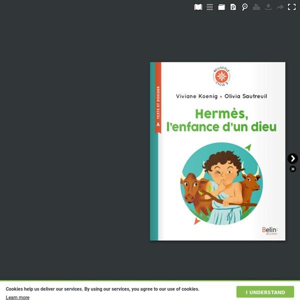Hermès, l'enfance d'un dieu de Viviane Koening