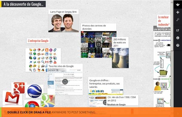 A la découverte de Google...