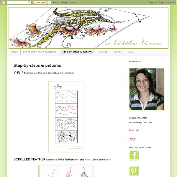 Step-by-steps & patterns