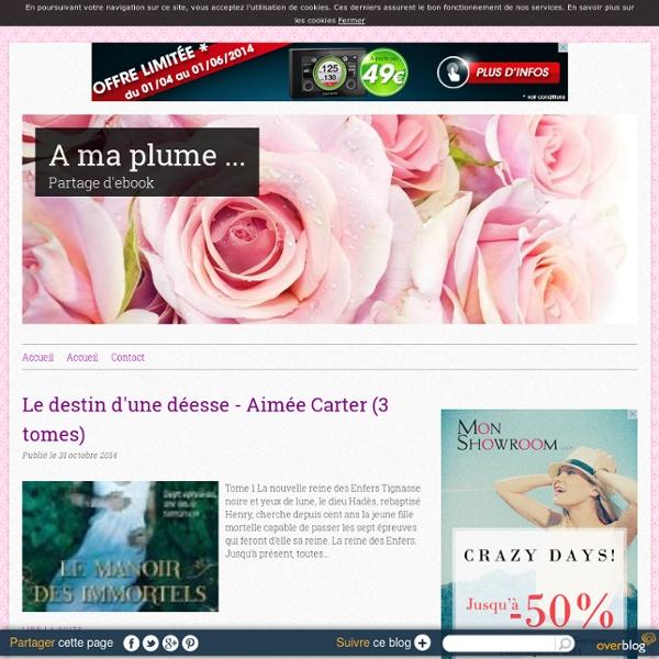 A ma plume ... - Partage d'ebook