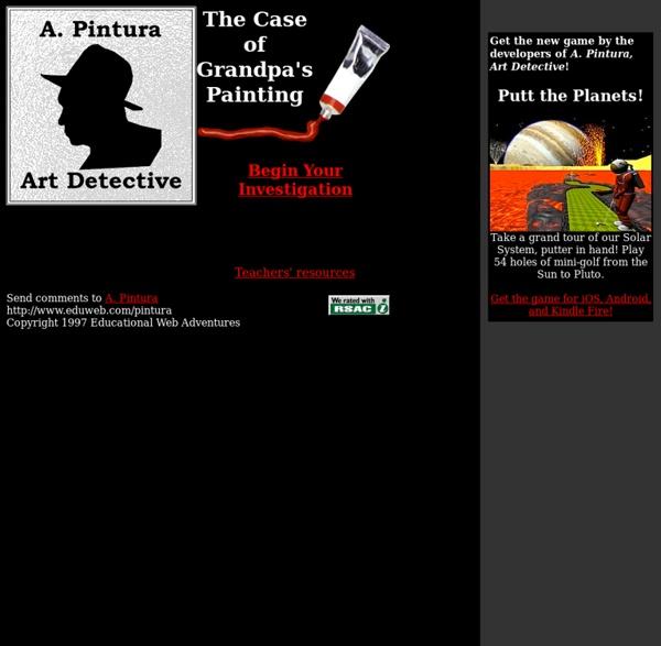 A. Pintura: Art Detective