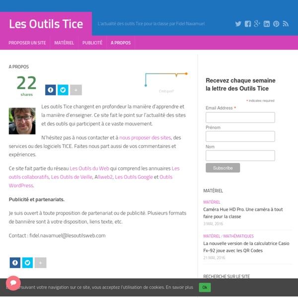 A propos – Les Outils Tice