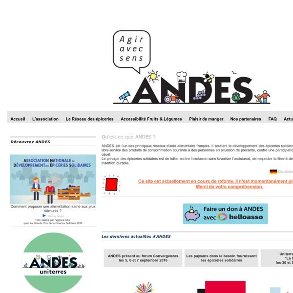 A.N.D.E.S le réseau des épiceries solidaires