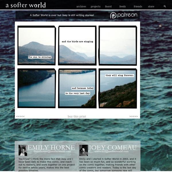 A Softer World: 1009