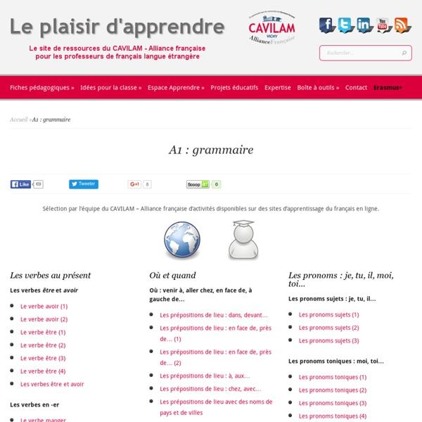 A1 : grammaire