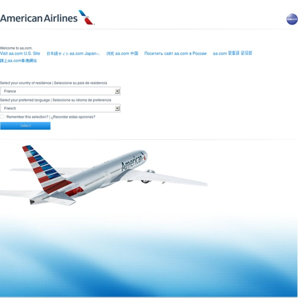 Airline Reservations And Airline Tickets From American Airlines