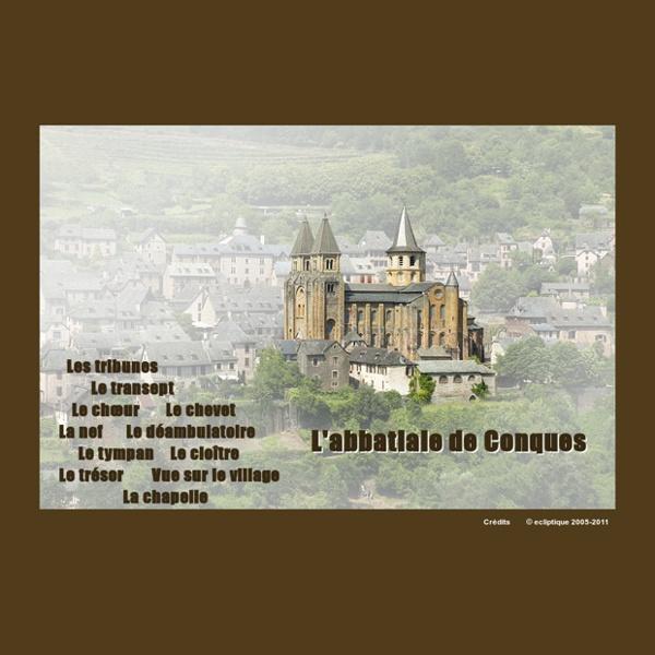 Abbatiale de Conques - Visite virtuelle