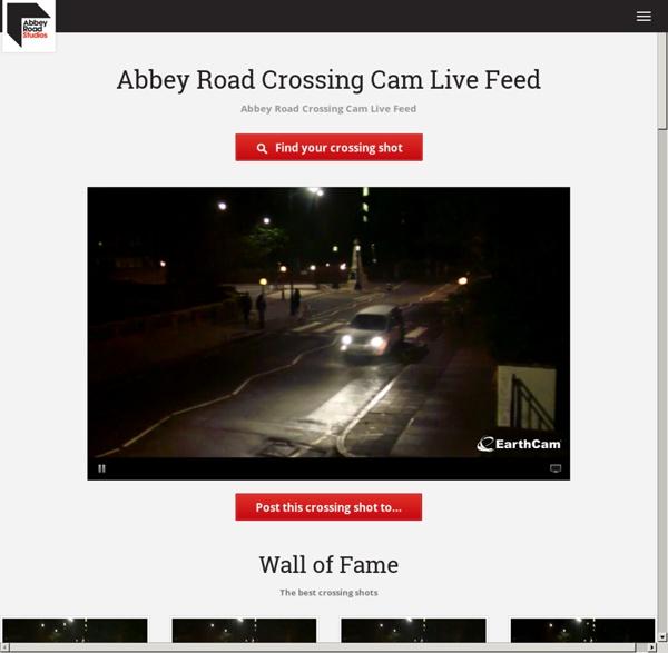 Abbey Road - Crossing Webcam