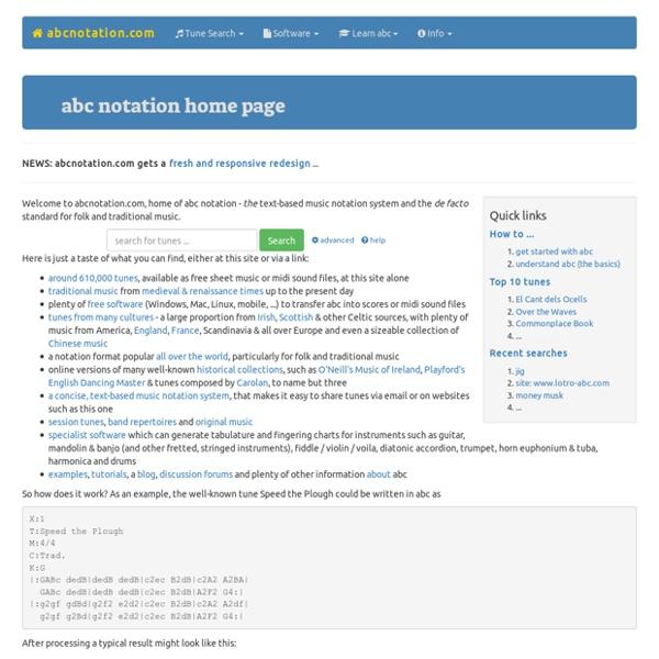 Abcnotation.com