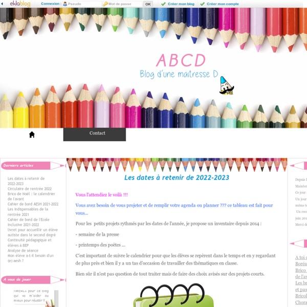 ABCD - Blog d'une maîtresse D