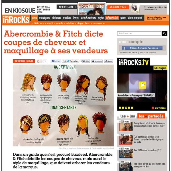 Abercrombie & Fitch dicte coupes de cheveux et maquillage à ses vendeurs