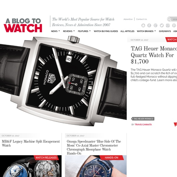 aBlogtoWatch World's Most Popular Watch Blog - Watch Reviews, Buying Guides, News & Discussion