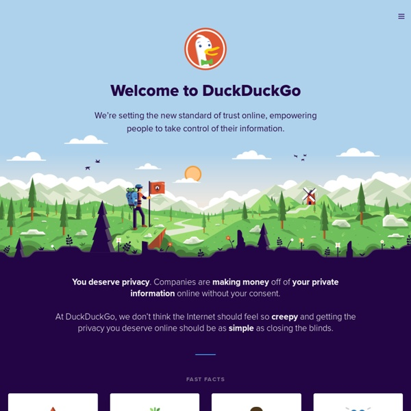 About DuckDuckGo
