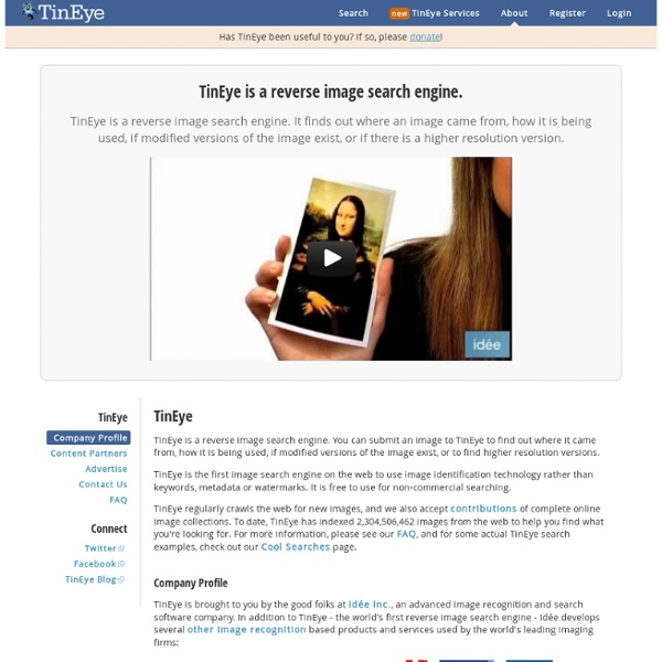 TinEye image search reverse