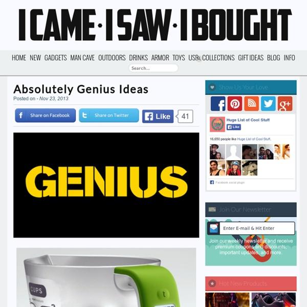 Absolutely Genius Ideas