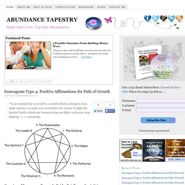 Abundance Tapestry — Creating A Life Of Abundance