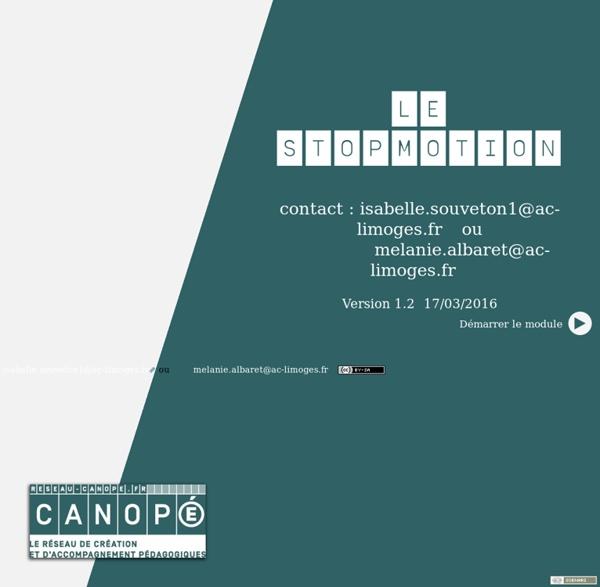 Canopé académie de Limoges - contact: isabelle.souveton1 ou melanie.alabaret