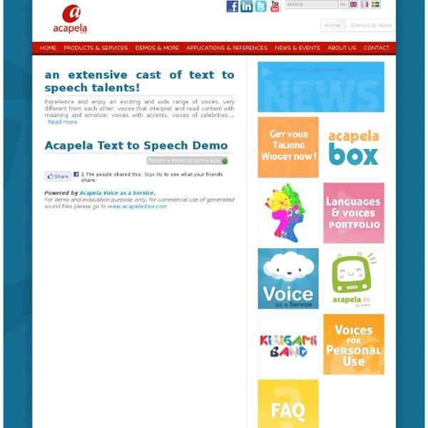 Acapela Text Speech Crack