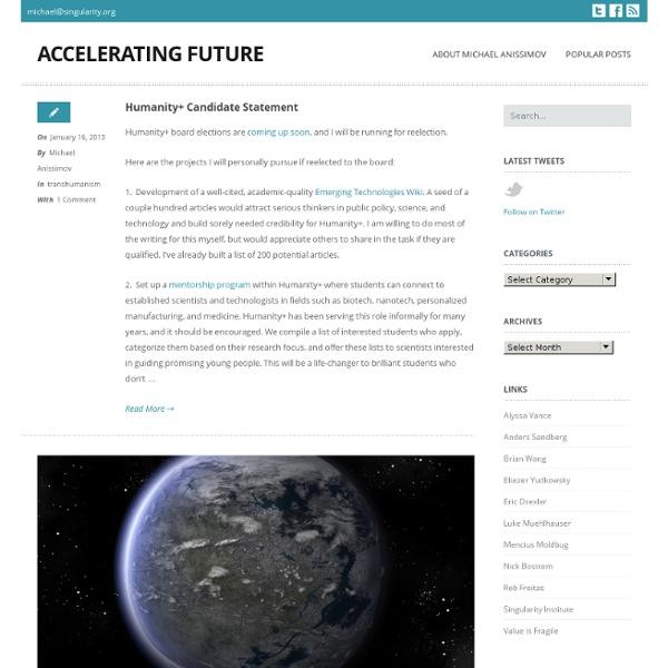 Accelerating Future