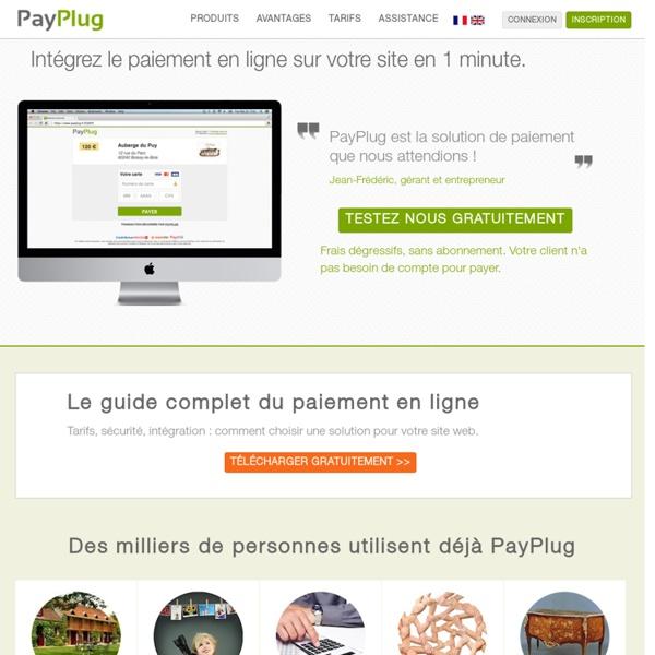 Acceptez la carte dès aujourd'hui - PayPlug