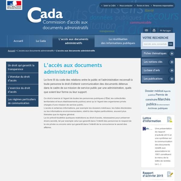 1978 - France - Commission d'accès aux documents administratifs