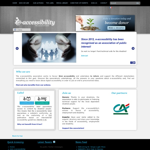 Association pour l'accessibilité numérique
