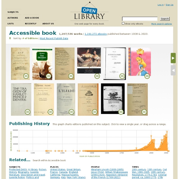 Accessible book