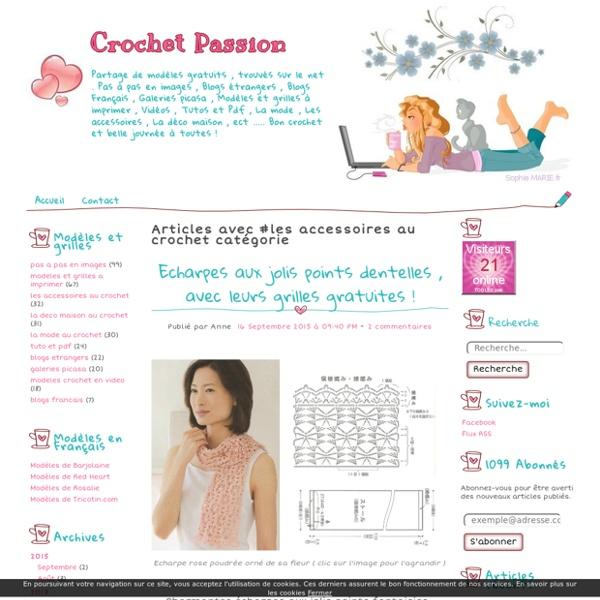 Les accessoires au crochet - Crochet Passion