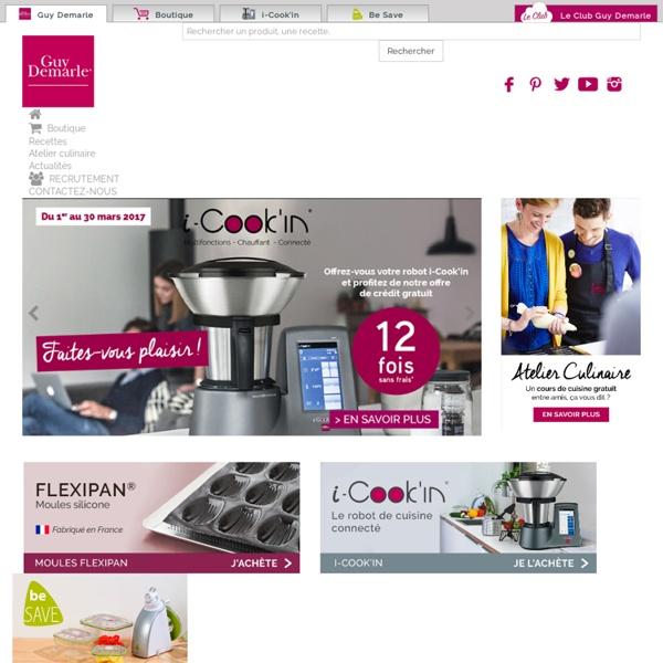 Matériel et accessoires de cuisine (Flexipan), ustensiles de cuisine (vente directe) - Guy Demarle Grand Public