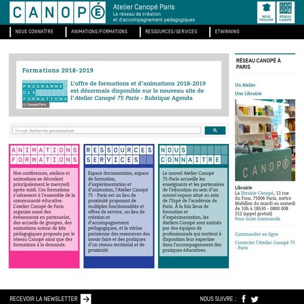 CRDP de Paris - Centre Régional de Documentation Pédagogique de Paris