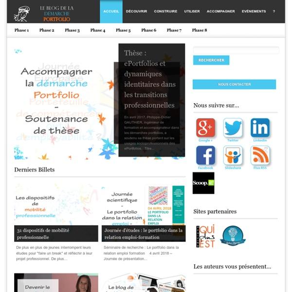 Blog accompagner-demarche-portfolio.fr