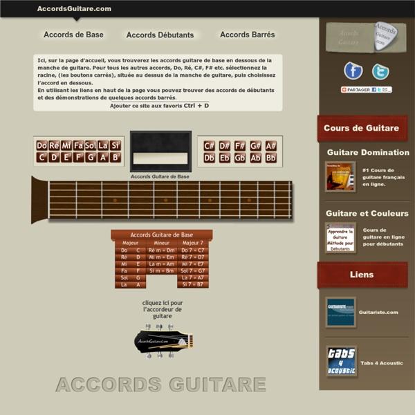 Accords Guitare