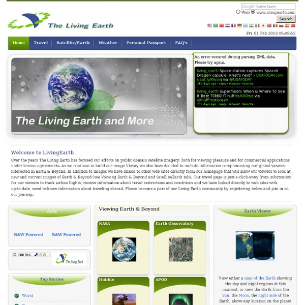 Earth...Just A Click Away