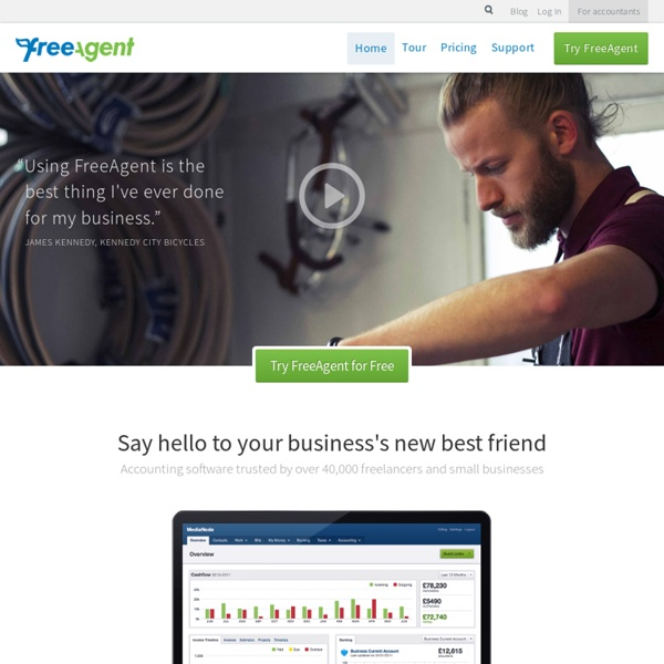 Online Accounting Software: Small Business and Freelancers - FreeAgent