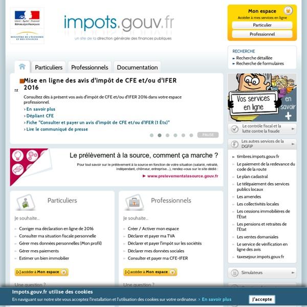 Le site de la DGFiP