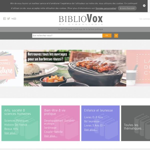 BiblioVox – Bibliothèques municipales