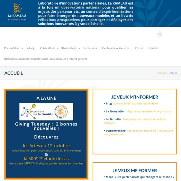 Le Rayonnement des Associations par le Mécénat d'Entreprises, d'Administrations et d'Université - Une passerelle pour renforcer les partenariats associations - entreprises