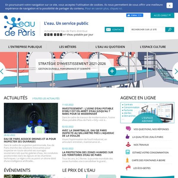 Eau ville de Paris