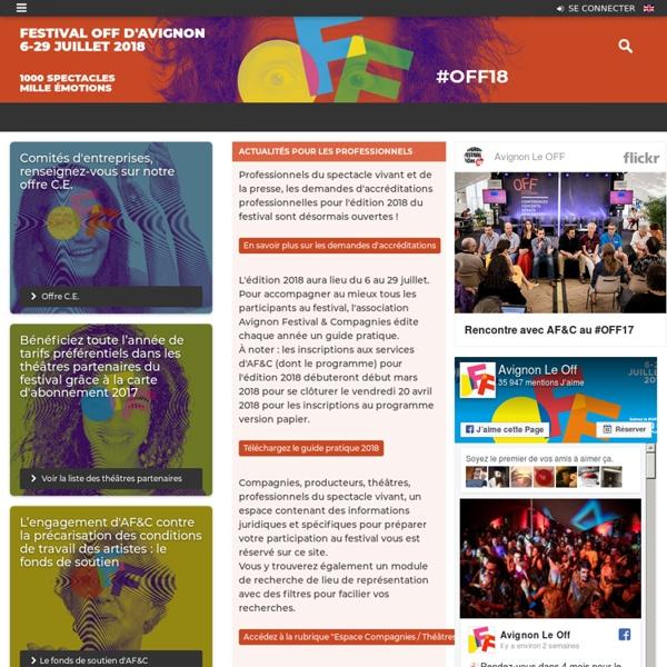 Avignon Festival & Compagnies