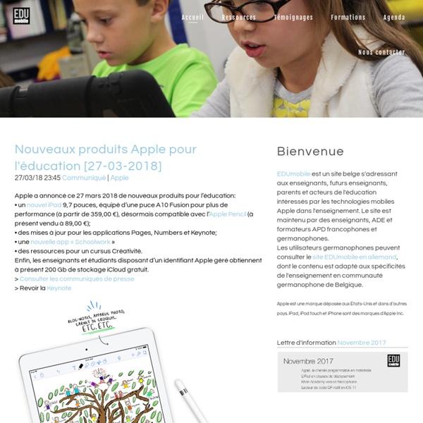 iPad en éducation - Belgique